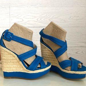 ALDO Deavila Wedge Platform Sandal, Sz 36